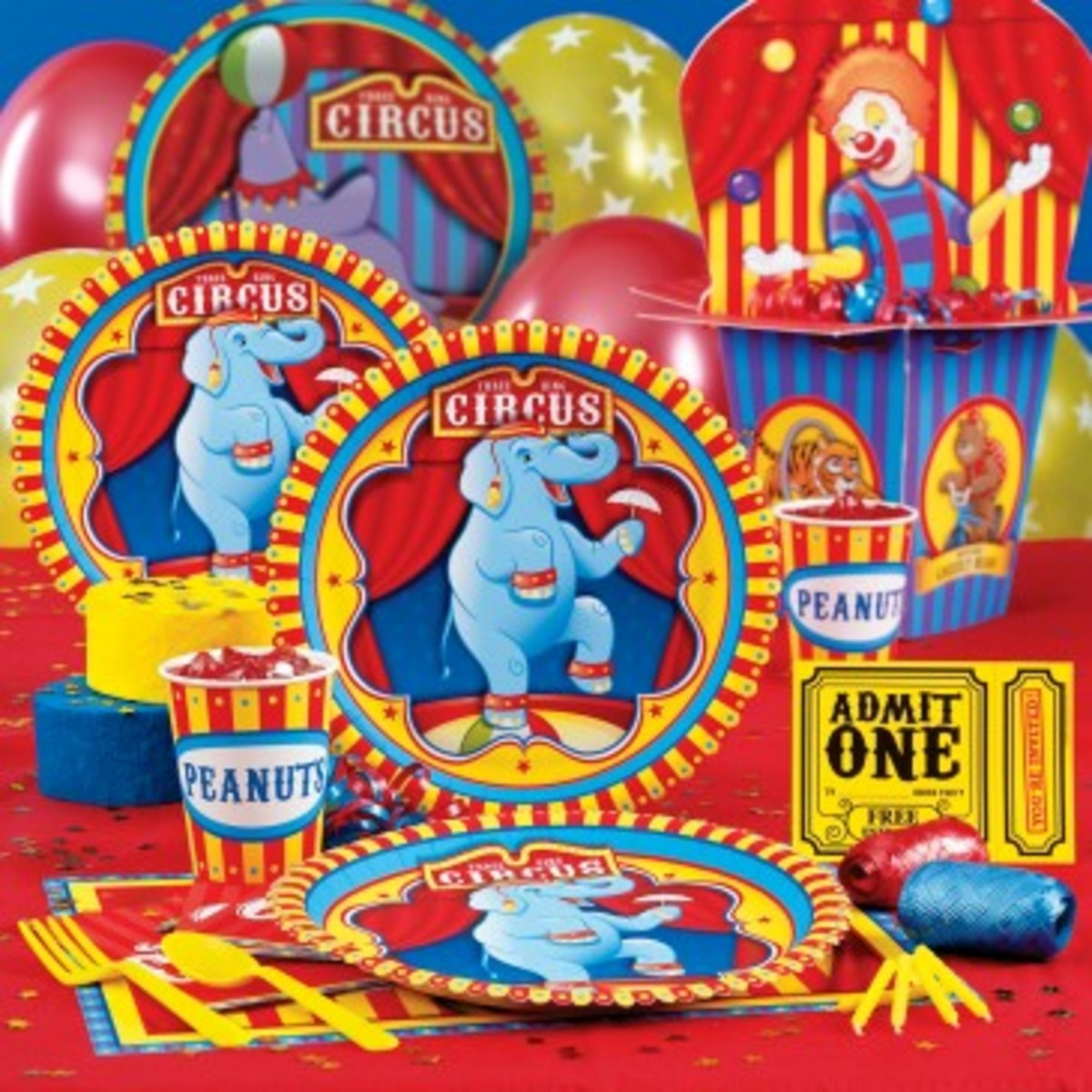 Circus Carnival Party Pack