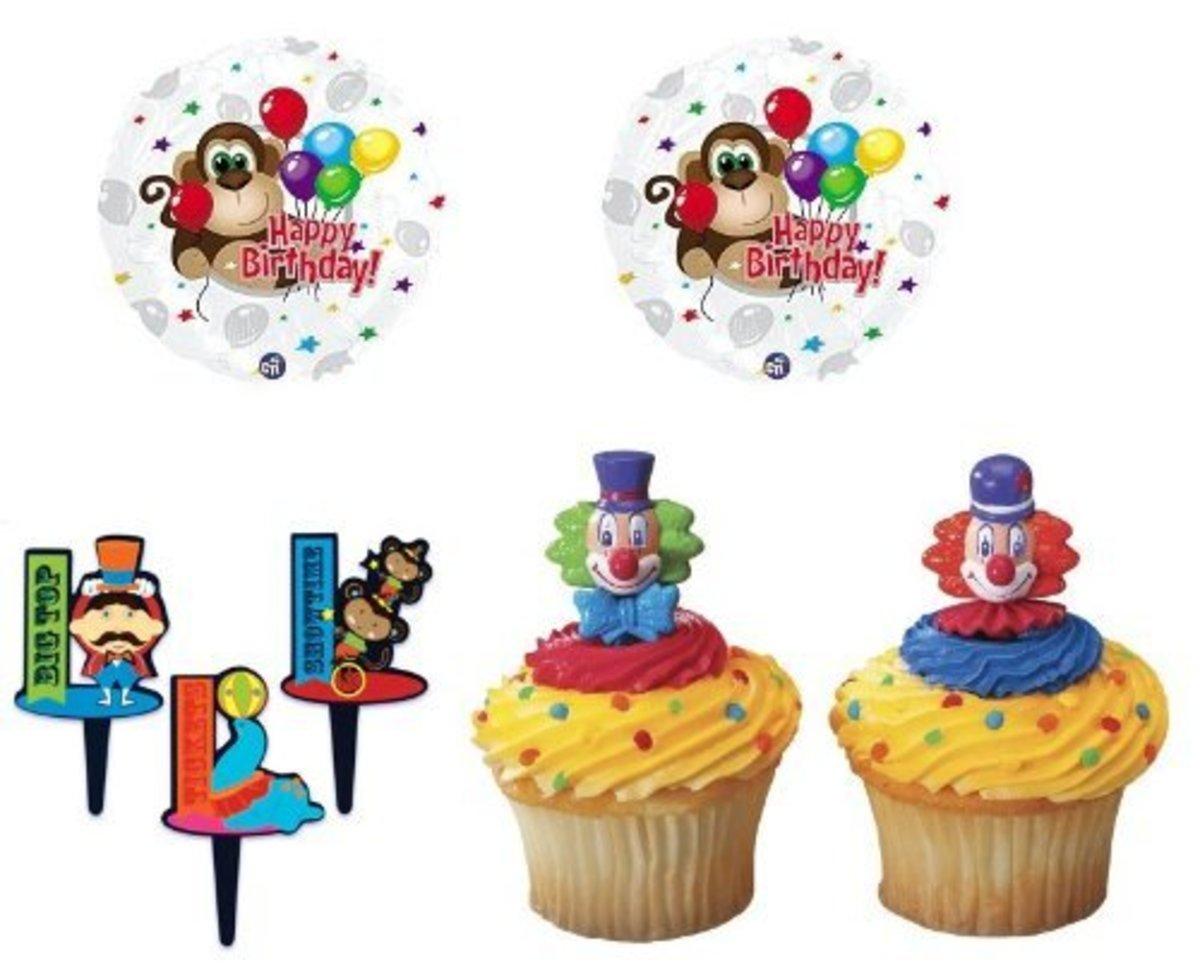 Carnival Circus Cupcakes