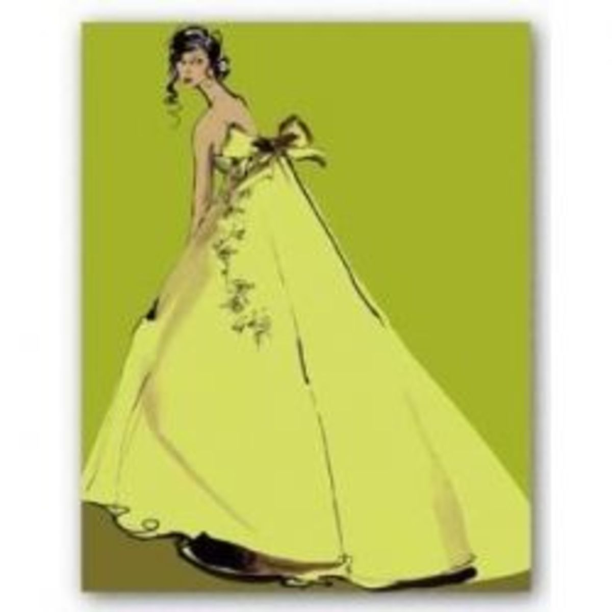 Chartreuse fashion