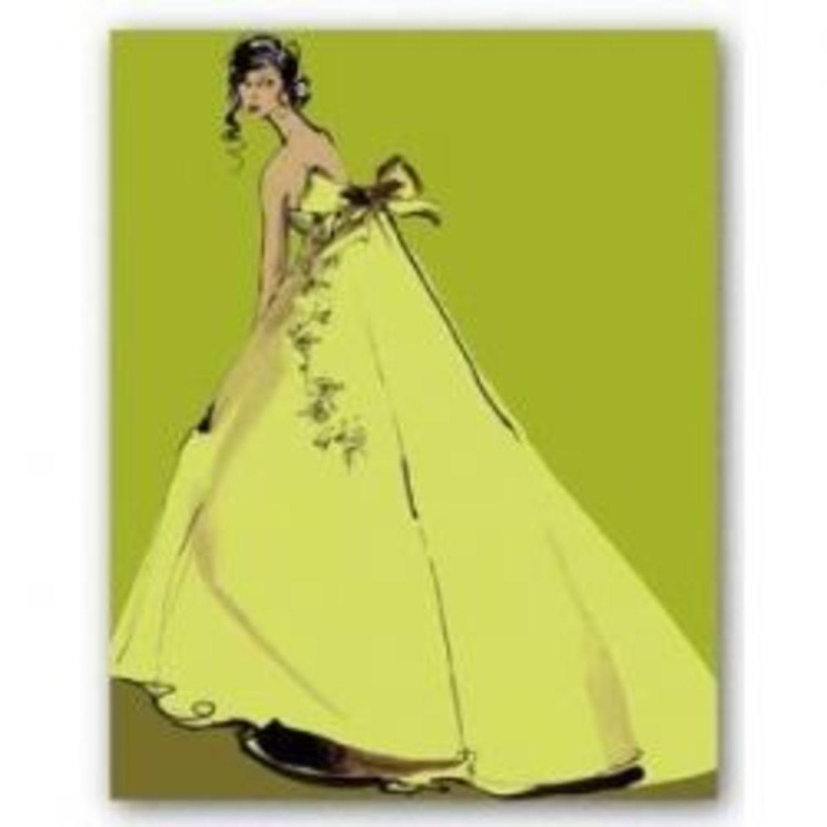 Chartreuse fashion