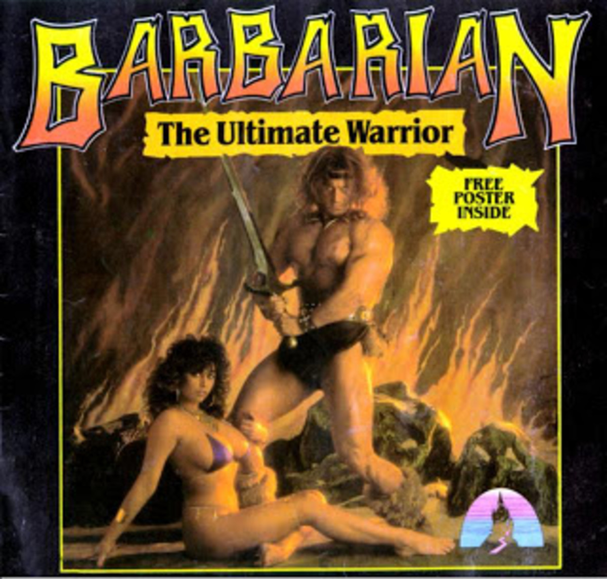 Michael Van Wijk and Maria Whittaker were on the front cover of Barbarian on the ZX Spectrum