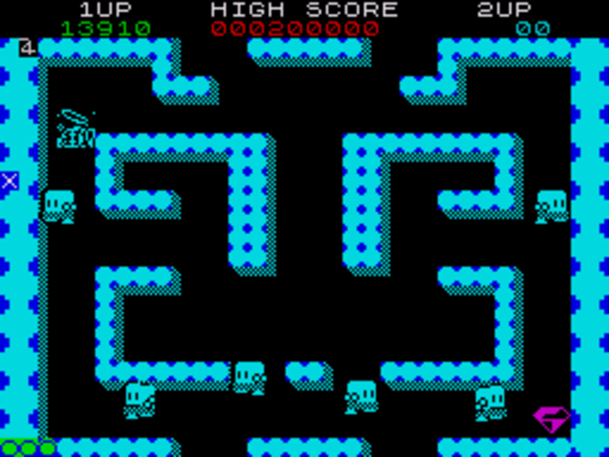 Bubble Bobble was a great two player game on the ZX Spectrum