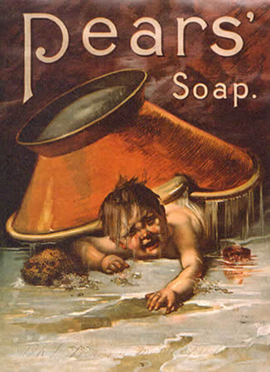 murder scenes always make me think of soap...
