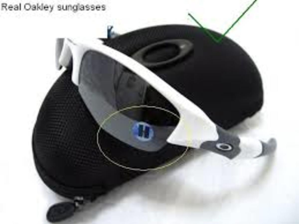 How To Tell Real Oakleys