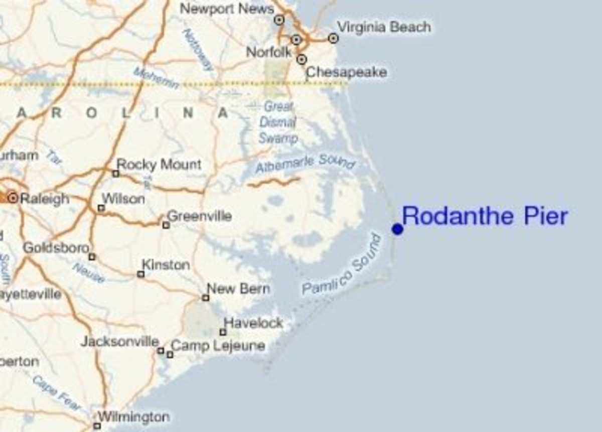 Rodanthe Pier location