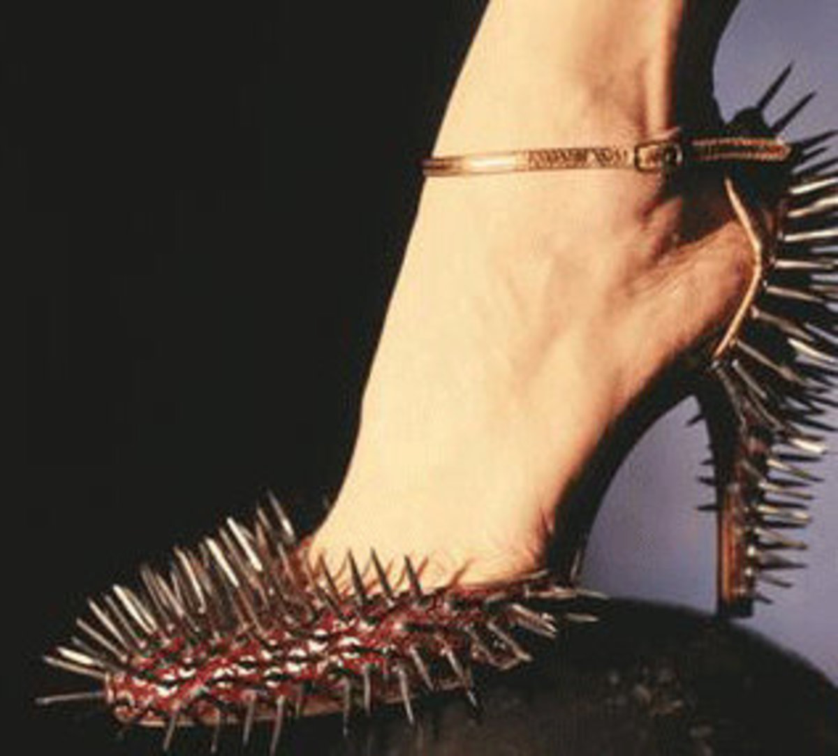 I don't think any man would want to get a kick outta these lol!