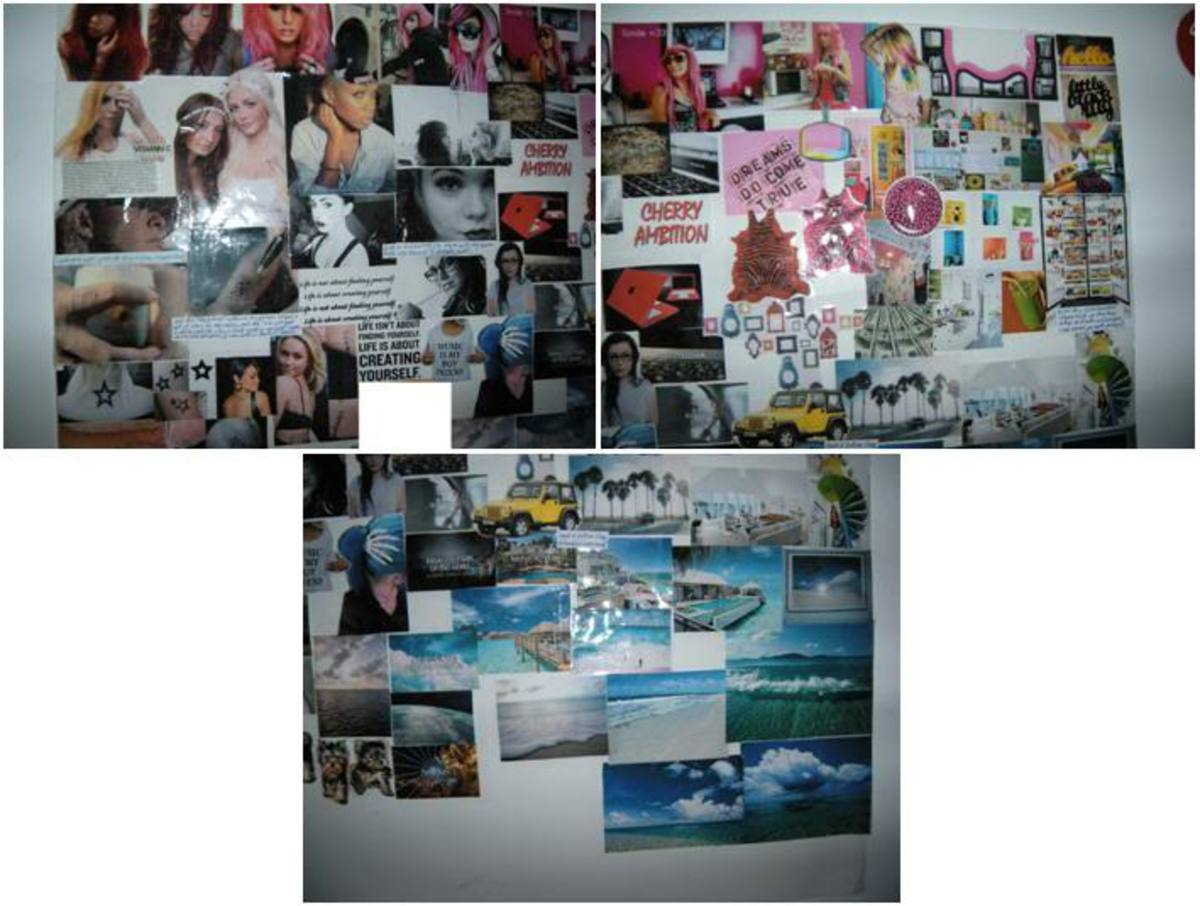 My personal mood/dream/inspiration vision board/poster.
