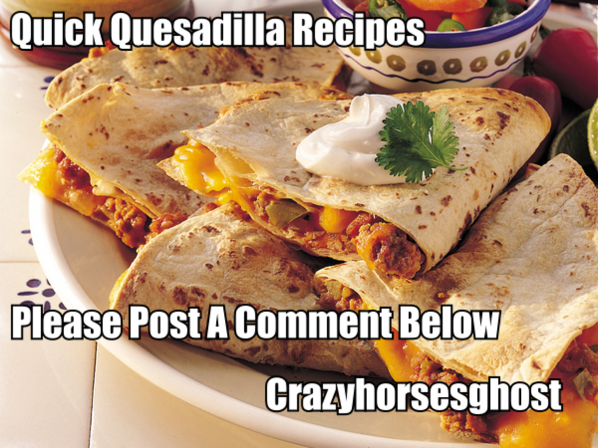 Here on this page you will find some of the most delicious Quesadilla Recipes you will ever taste.