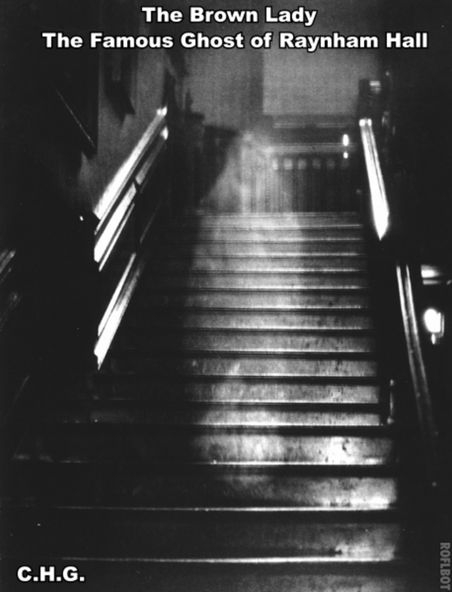 Here is the most famous ghost photo ever taken any where on earth. It is said to be the best ghost photo ever.
