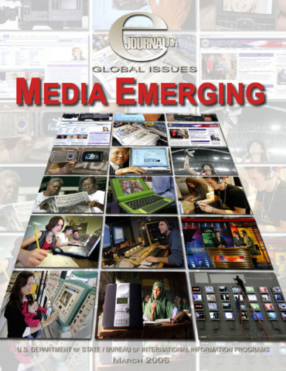New emerging media for news and information emerging globally