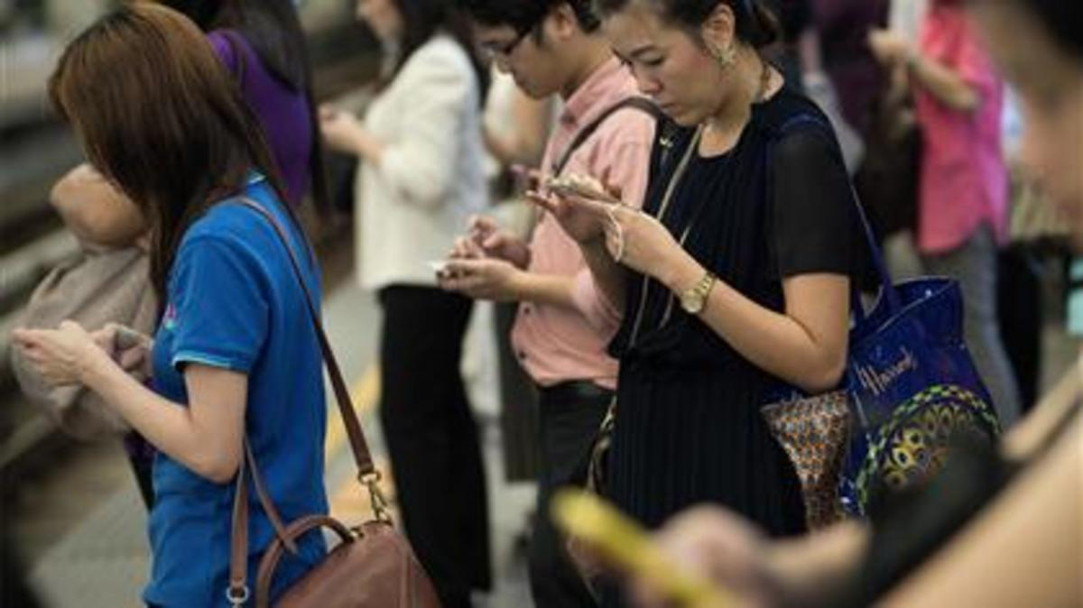 Disconnected: ONE BILLION people still don't own a mobile phone, and a third of the world does not have access to the internet Number of mobile phone subscriptions rose by 600m to 6billion in 2011 Mobile broadband is on the rise in growing countries