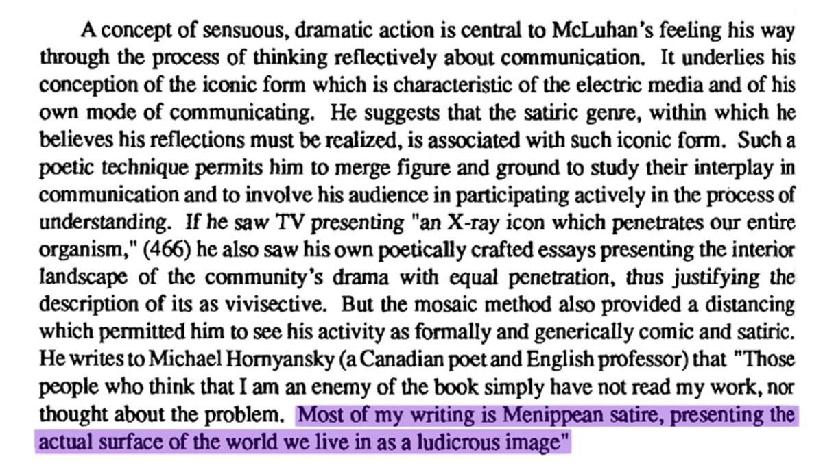 McLuhan In Perspective