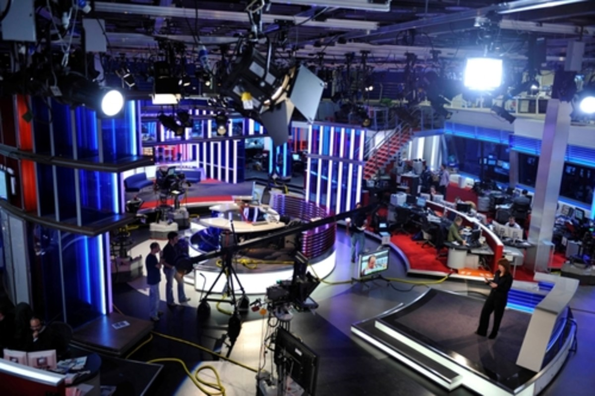 TV Production Studio and news selection Process