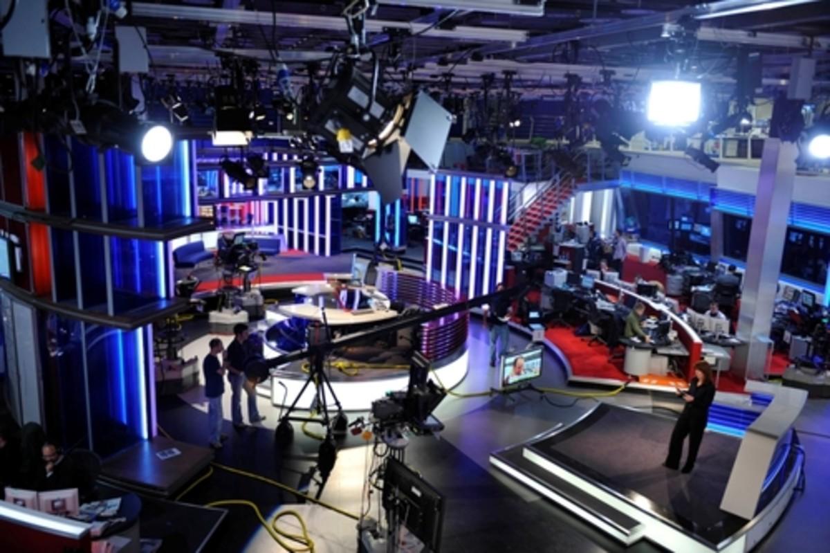 TV Production Studio and news selection Process