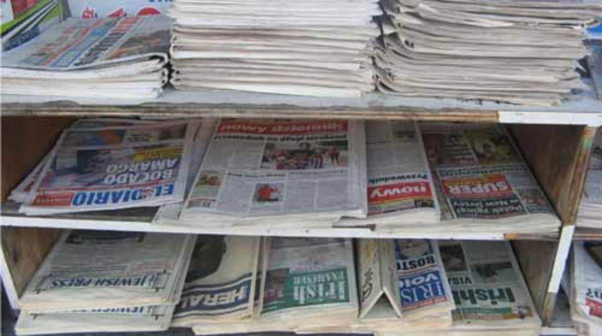 Seniors Do not Think Online News Will Kill Print. Today's New York newsstand is packed with print—from the Times and Post to such as ethnic-media fare as El Dario, the Polish Nowy Dziennik, Jewish Press and all three Irish papers.