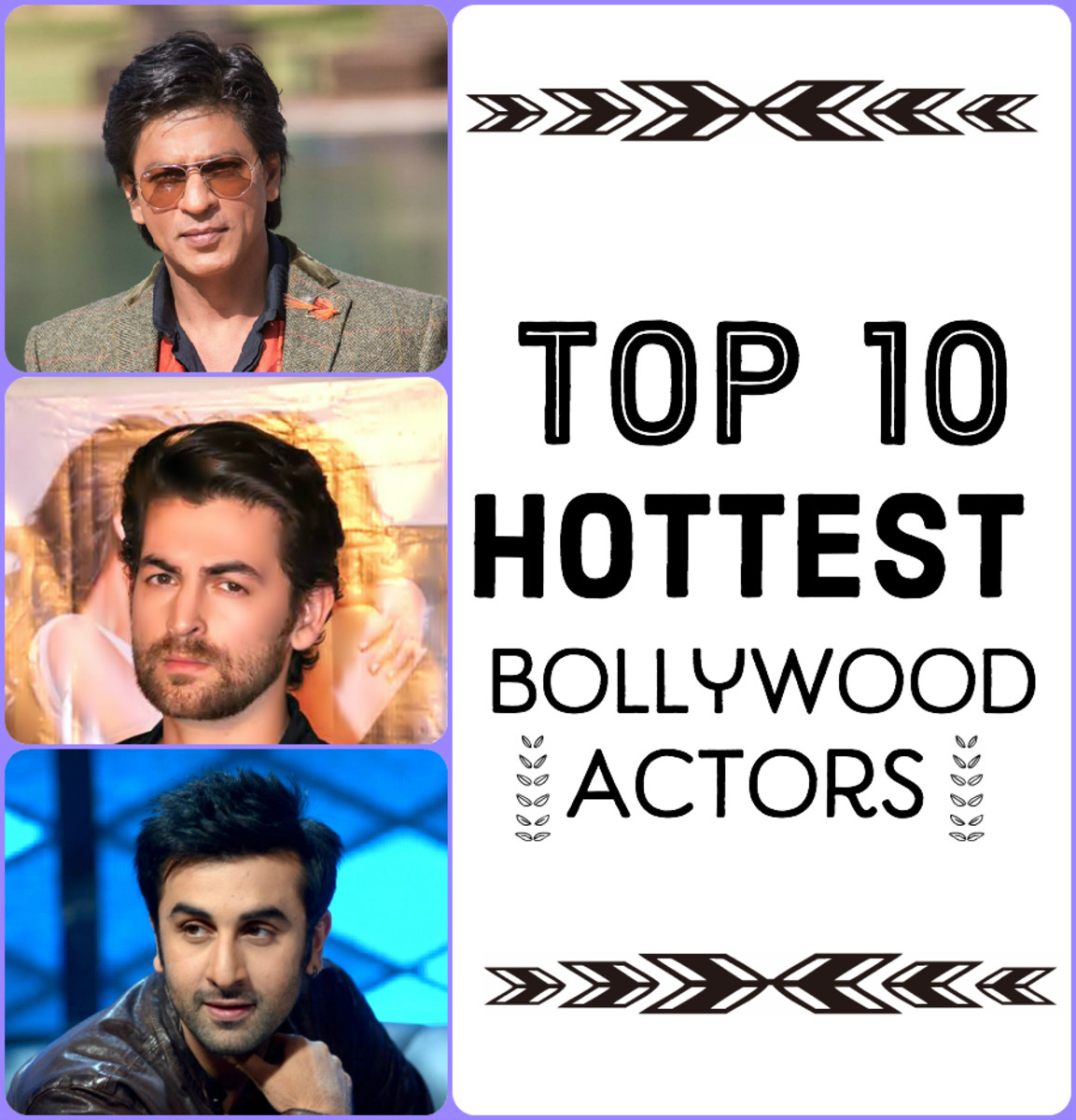 Top Ten Hottest Bollywood Actors
