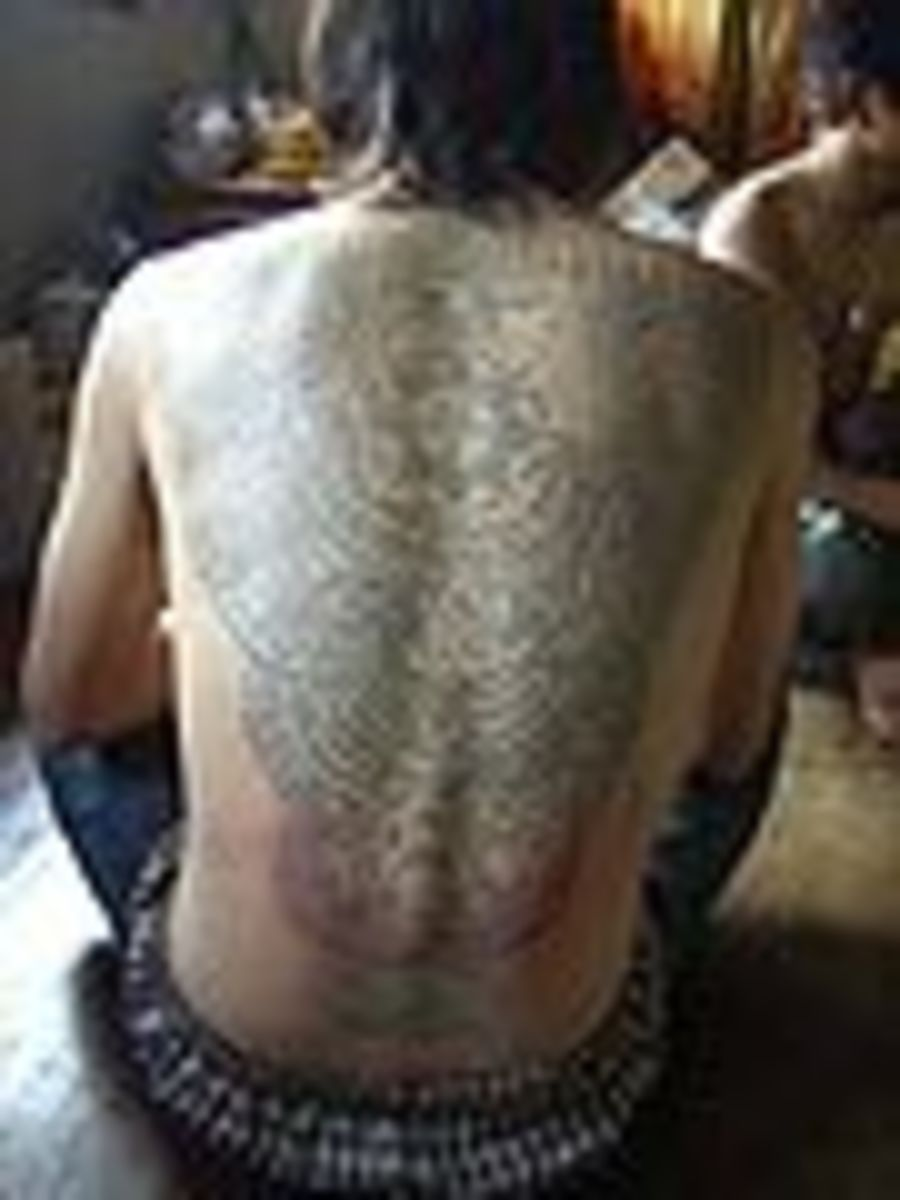 Se Asian Yantric tatoos