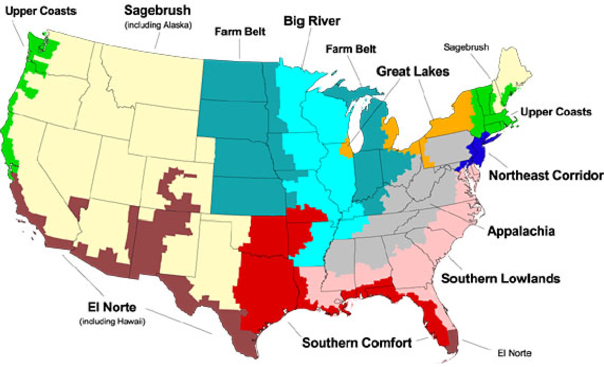 Partitioning America A Bioregional Approach Hubpages
