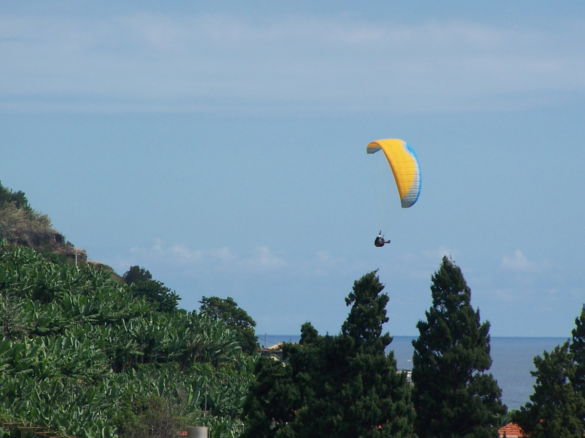 Paragliding in Madeira