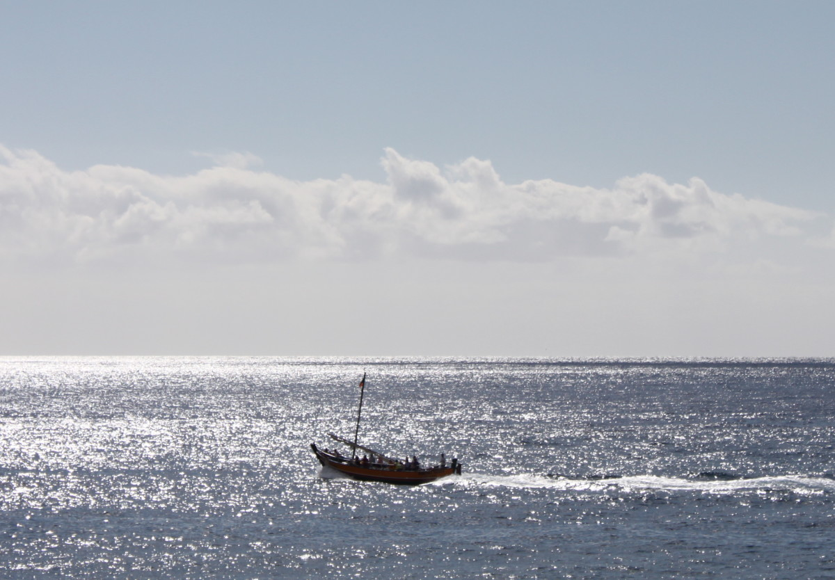 Ocean views in Madeira