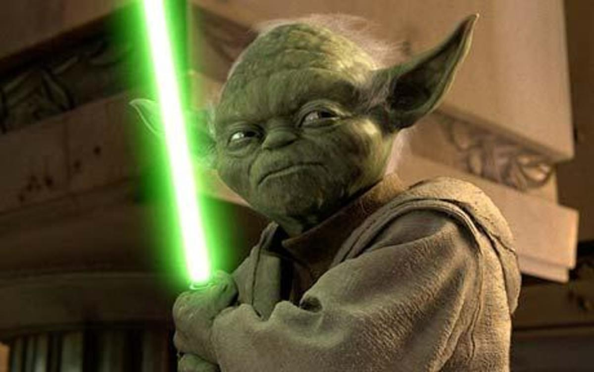 In Star Wars: The Force Trainer, Yoda will act as guide and Jedi Master to your young Padawan.