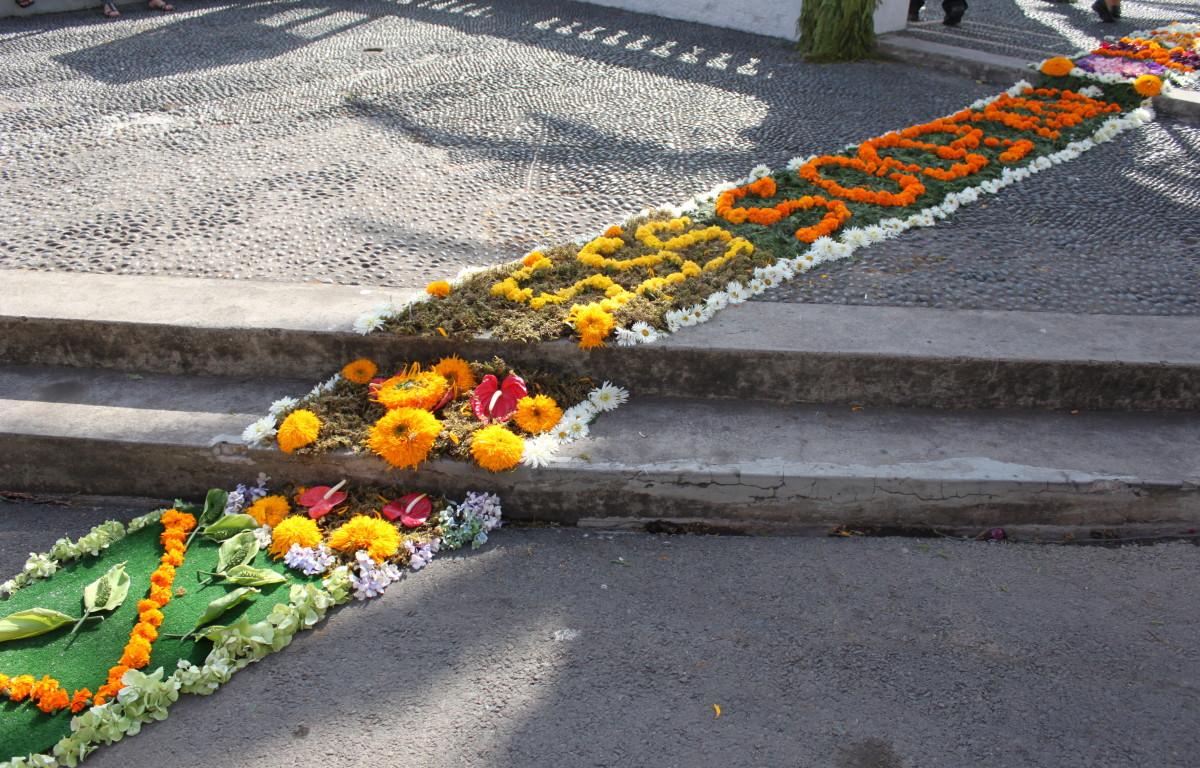 Fetsive Flower Carpet