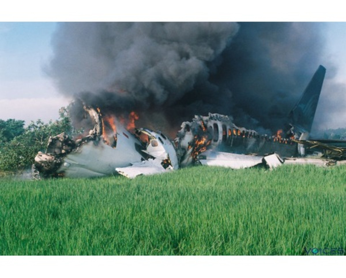 United Airlines Flight 232 crash landed in Sioux City, Iowa, U.S.. 111 of those on board were killed - but the actions of the crew helped save the other 185 flying on the DC-10