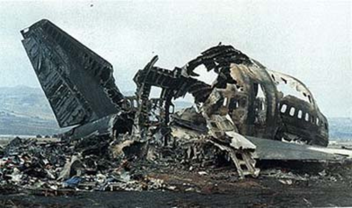 Canary Islands in the second worst aviation disaster in history, which killed a total of 583 people. The KLM 747 collided with a Pan Am 747 after the captain of the KLM plane started his takeoff roll without clearance