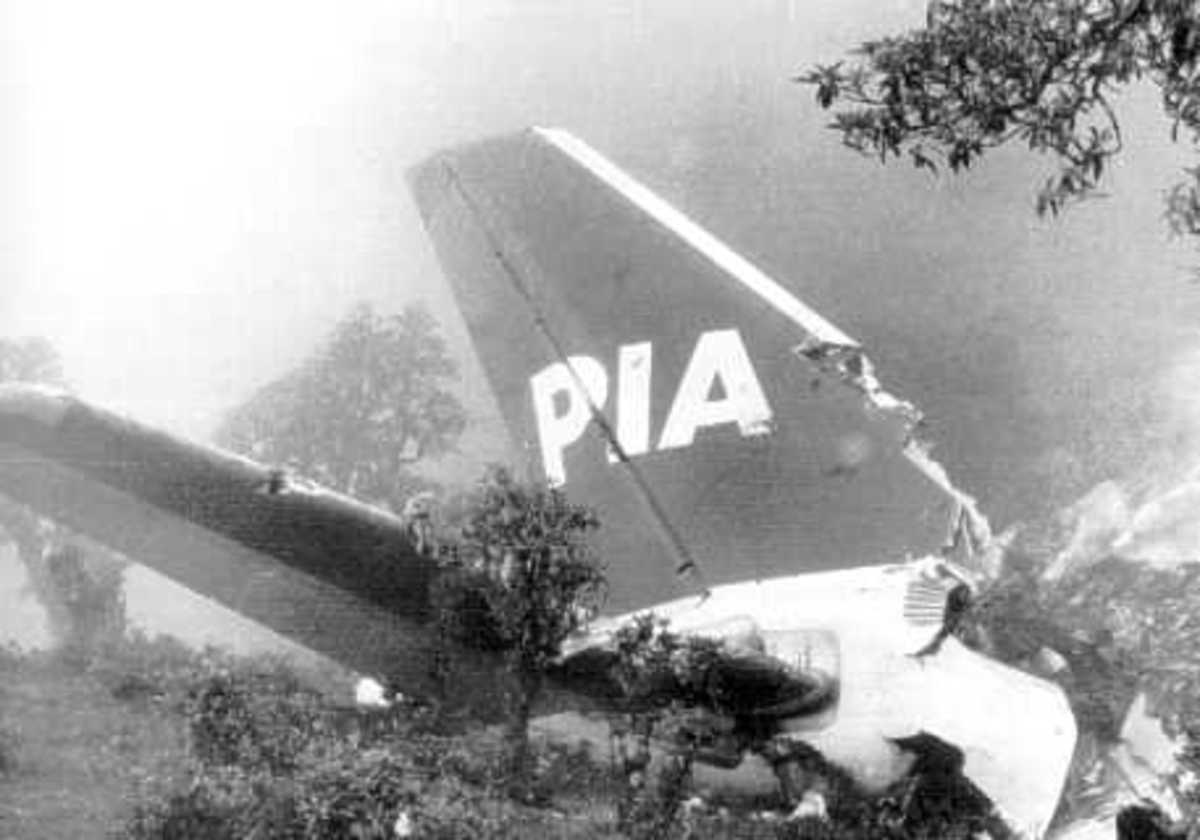 The plane hit cloud covered high ground while attempting to land 9 miles short of the runway. The pilot began the descent too early and had miscalculated the aircraft's altitude.