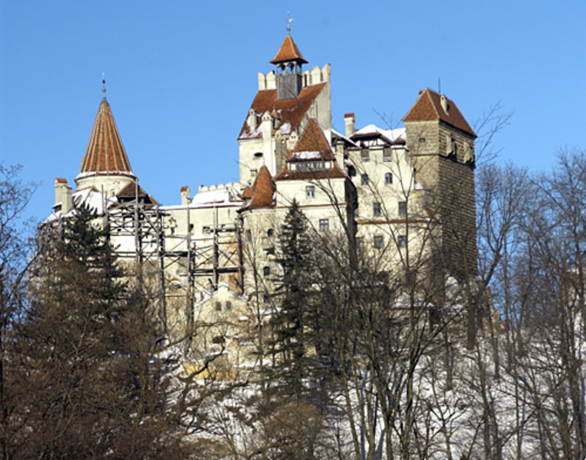Bran Castle is located within the borders of Transylvania, since 1922 a part of Romania