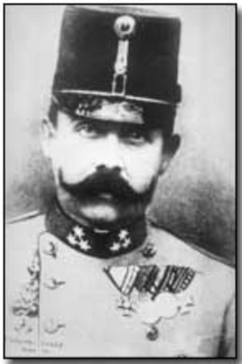 Arch Duke Franz Ferdinand whose assassination triggered World War I