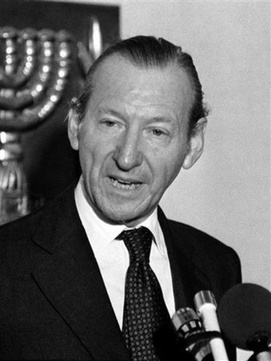 Kurt Waldheim resigned as Chanellor of Austria in 1986 amid rumors of nazi war crimes