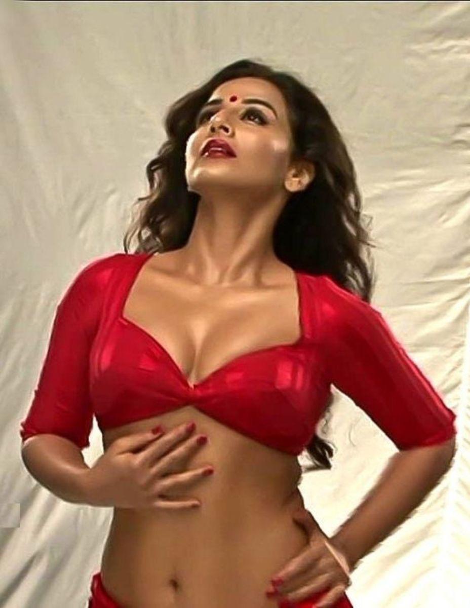 Bollywood actress Vidya Balan