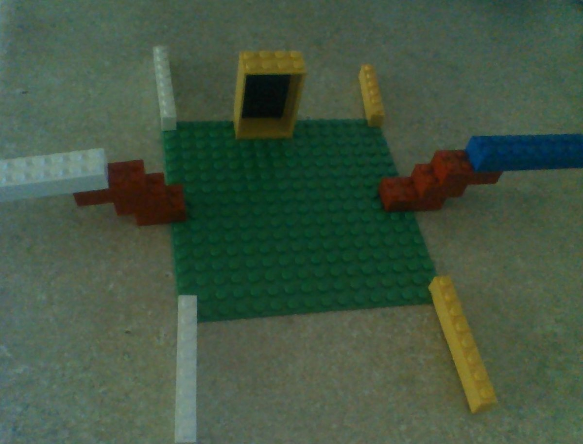 Another Lego construction by Cosette