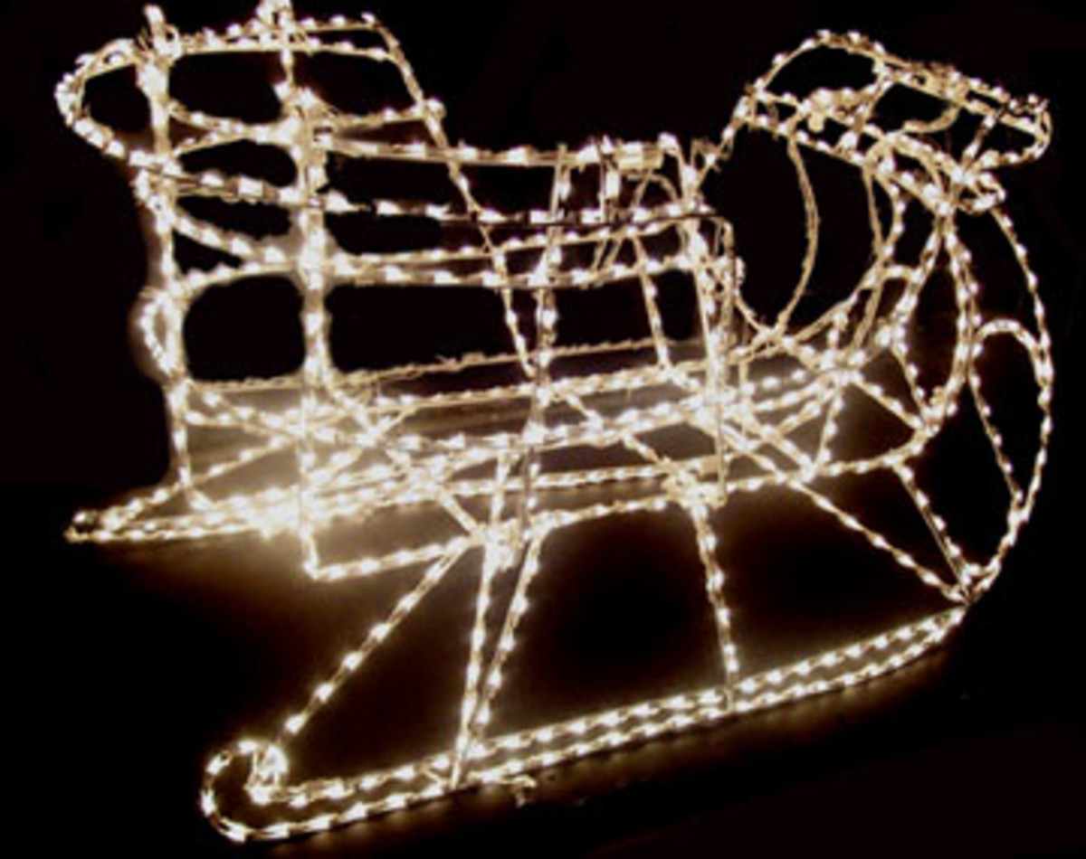 alfa img showing outdoor christmas sleigh. Black Bedroom Furniture Sets. Home Design Ideas