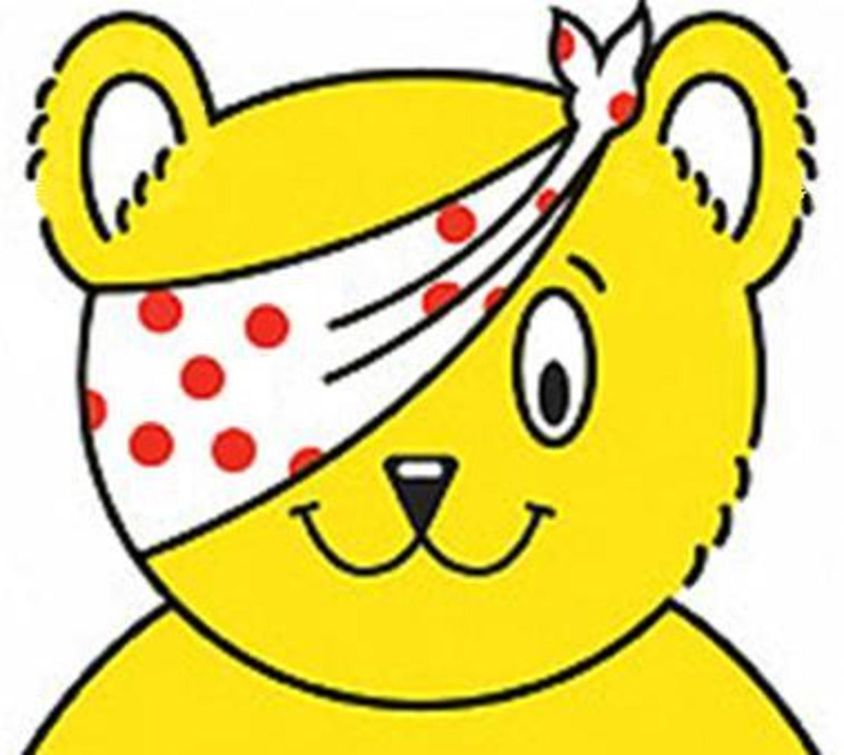 Children in Need  - With Pudsey Bear