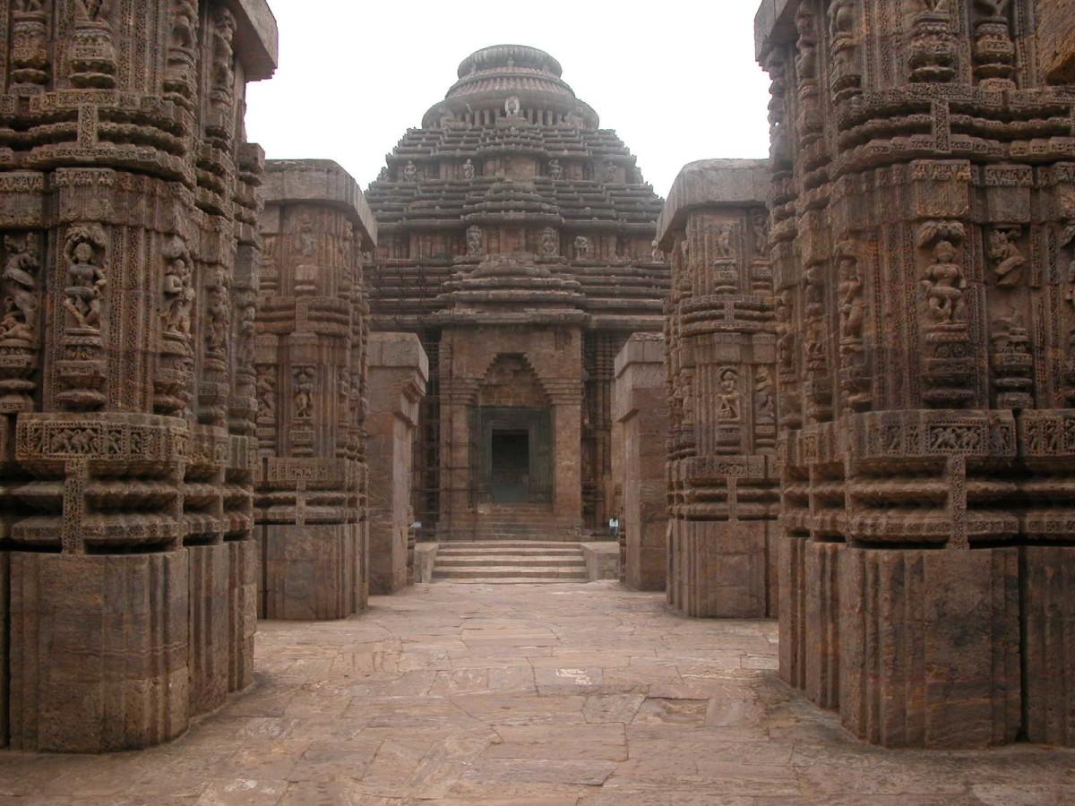 Konarak sub Temple