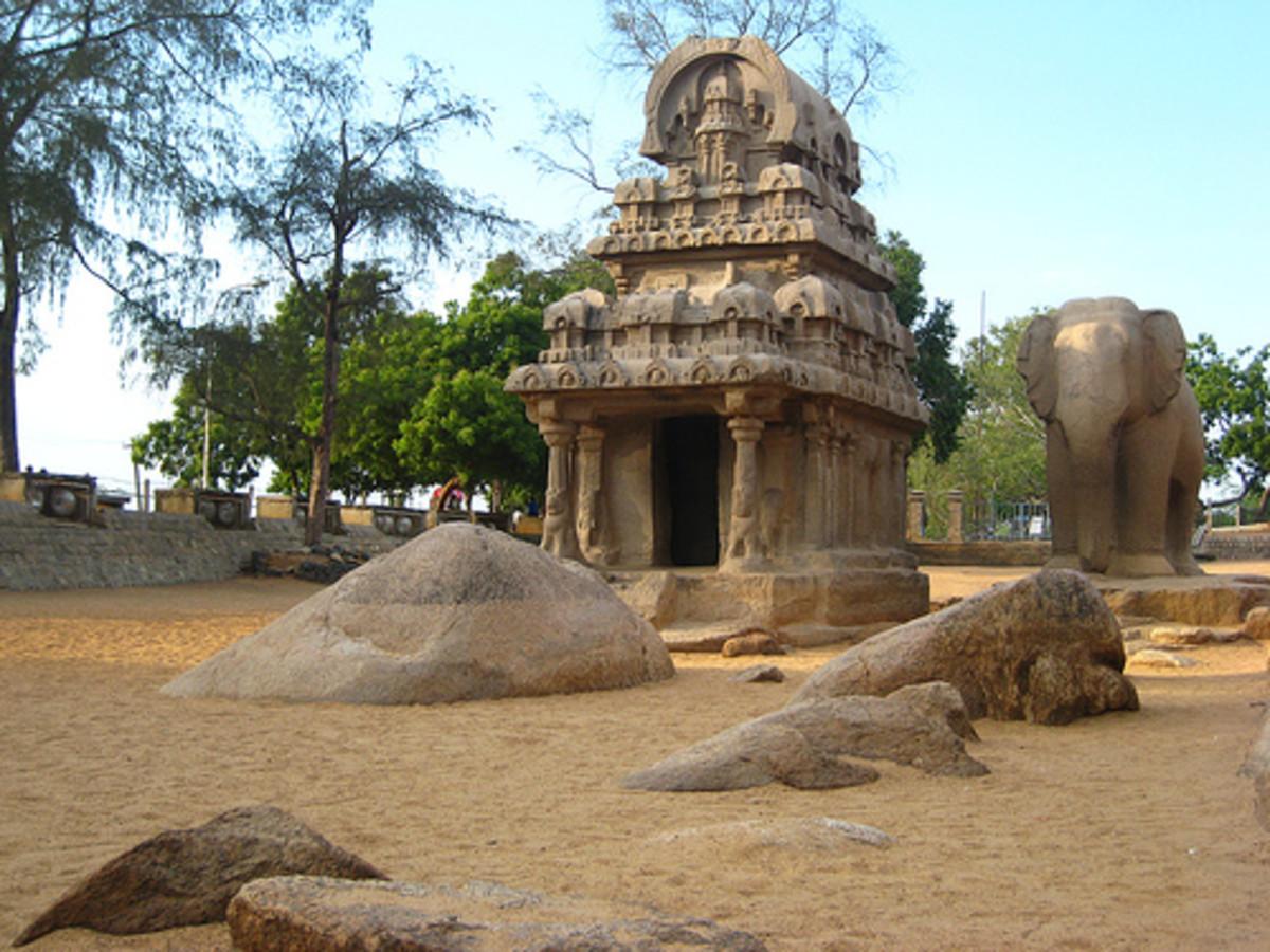 Five Rathas of Mahabalipuram