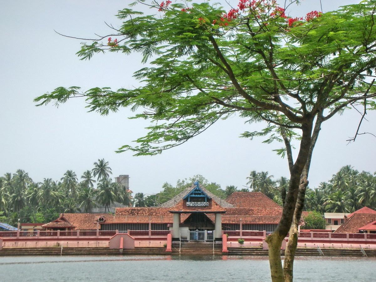 Kerala style architecture - Triprayar Sri Rama Temple