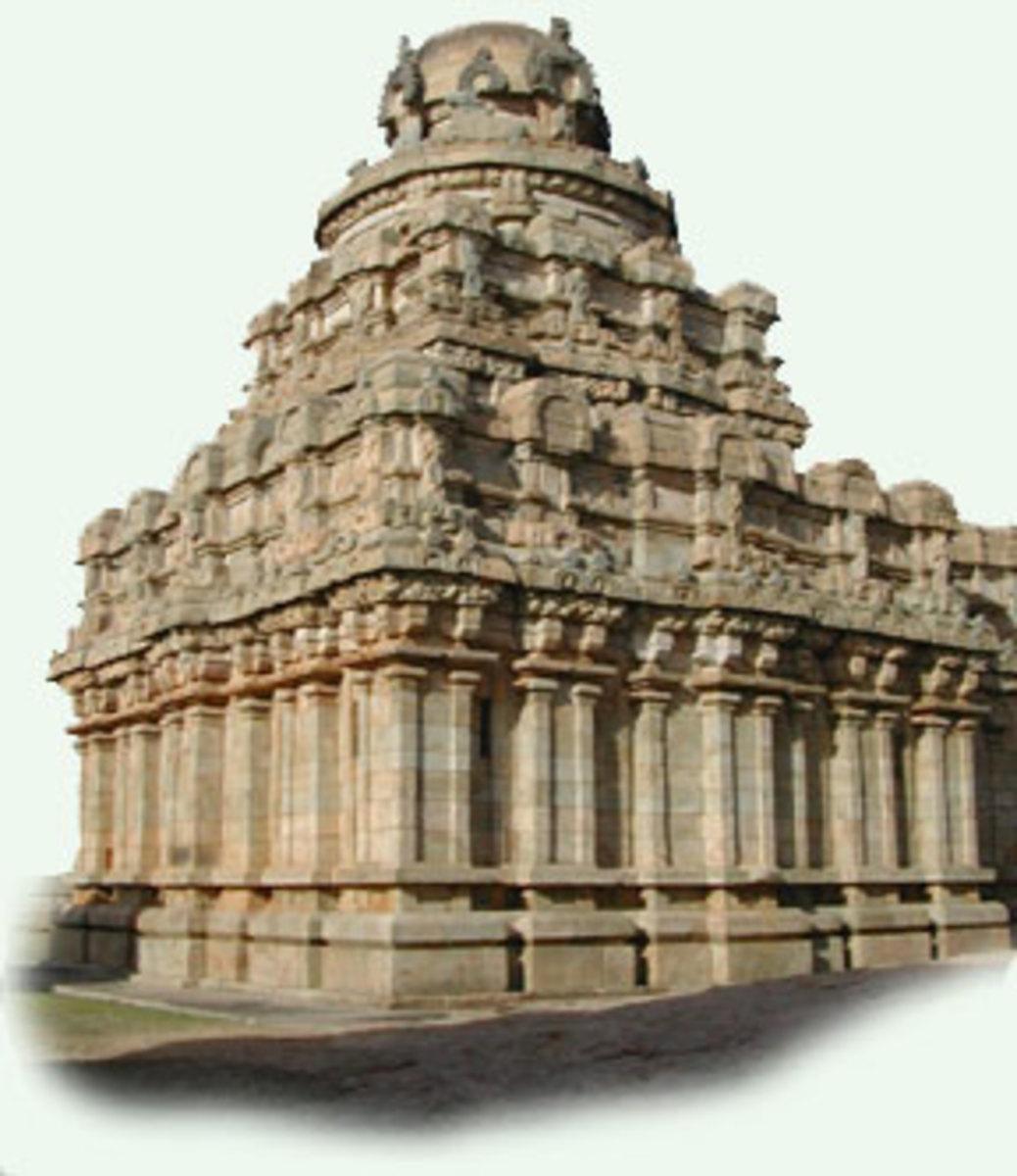 Vesara style temple