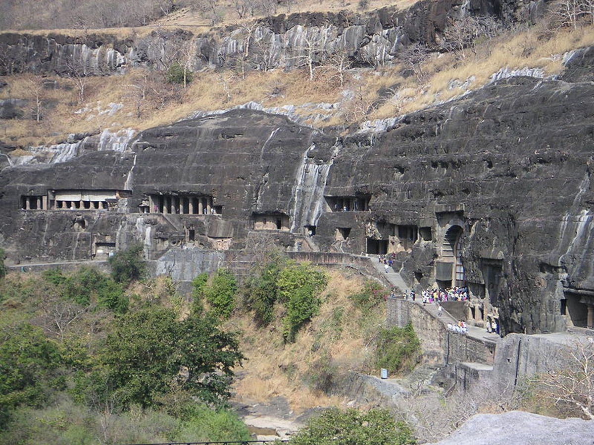 Cave temples of Ajanta