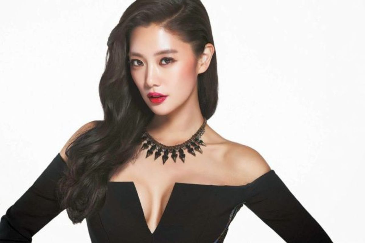 South Korean Actress Clara Lee