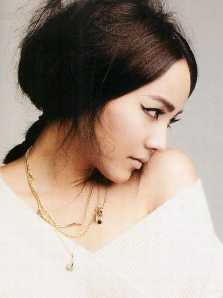Beautiful Korean Women - Kim Yoo-jin (Eugene)