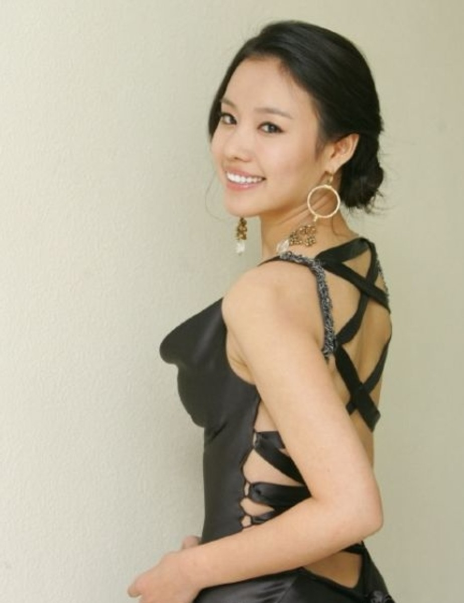 Kim Ah-joong - Beautiful Korean Women