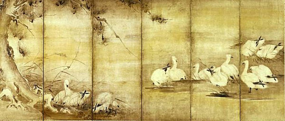 Artwork from Musashi