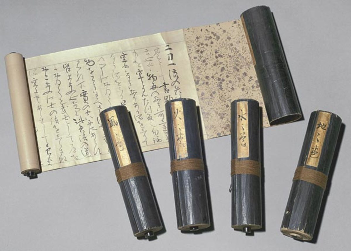 The Book of Five Rings (Go Rin No Sho) Source - Eisei-Bunko Museum