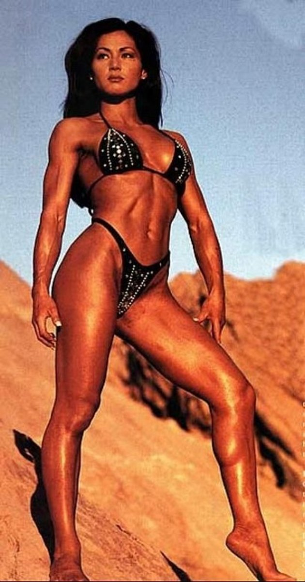 Denise Paglia - Asian Fitness Models