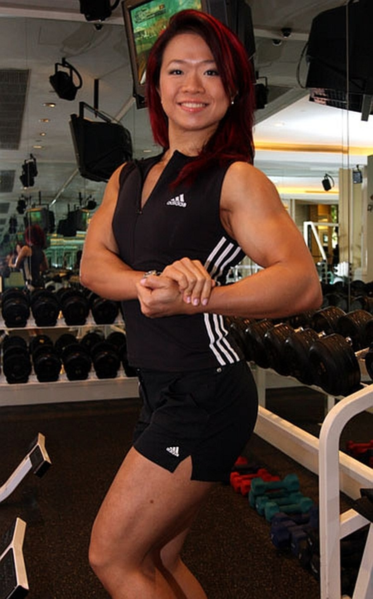 Joan Liew - Asian Female Bodybuilder