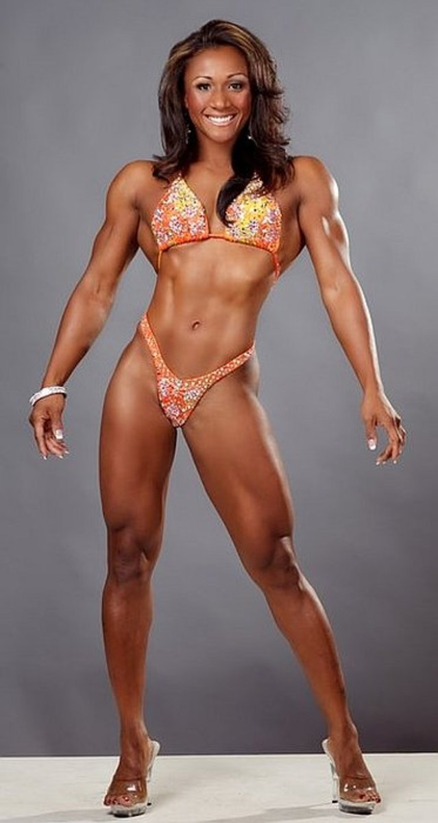 Tanji Johnson - fitness models