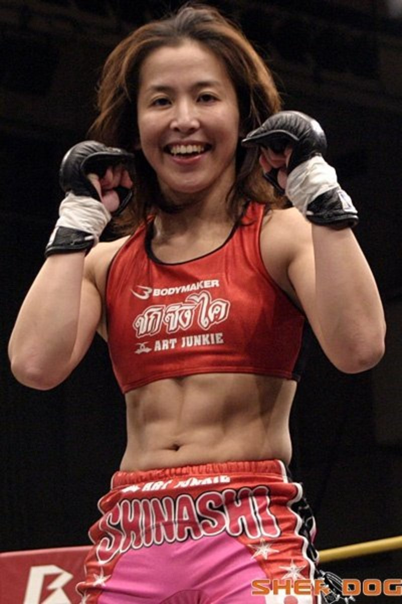 Satoko Shinashi - Female MMA